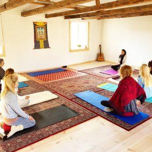 Rawfood yoga detox retreat