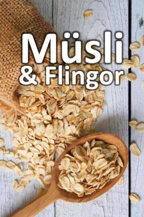 Müsli och Flingor